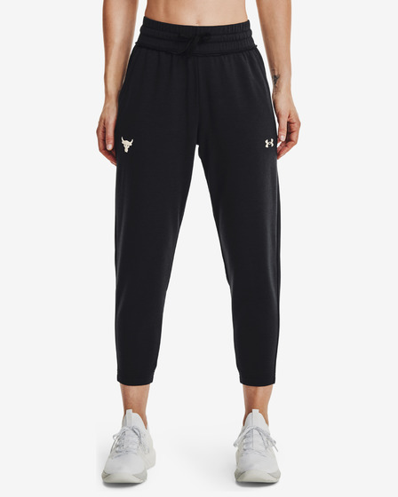 Under Armour Project Rock Terry Crop Jogginghose