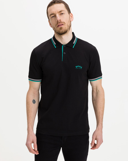 BOSS Paul Curved Polo T-Shirt