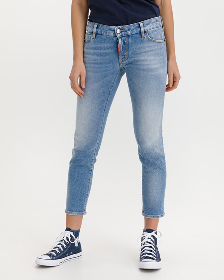 DSQUARED2 Jennifer Cropped Jeans