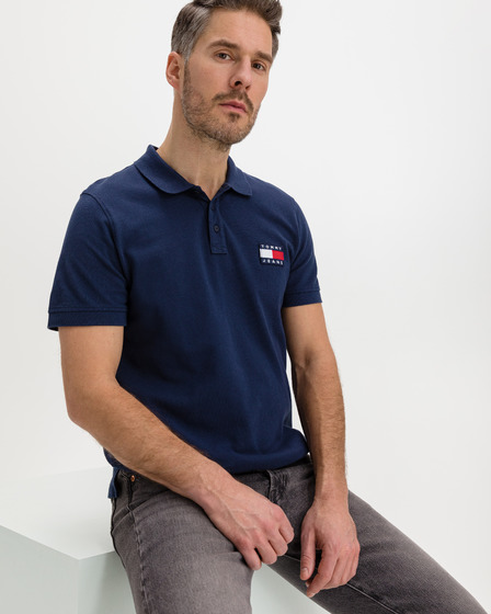 Tommy Jeans Badge Polo T-Shirt