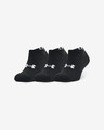 Under Armour Core No Show 3 Paar Socken