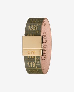 Il Centimetro Green Gold Armband