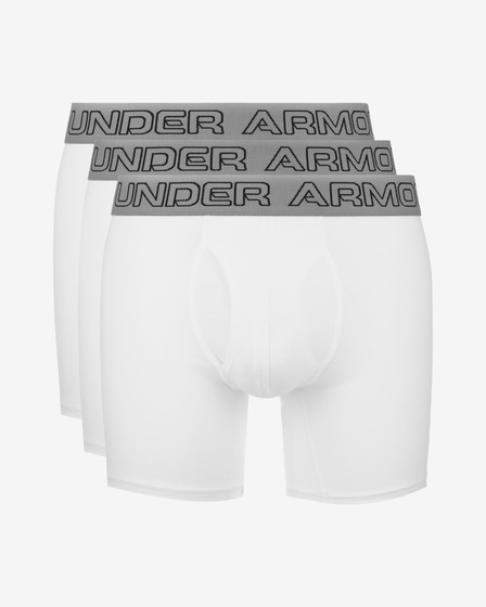 "Under Armour Charged Cotton® Stretch 6"" Boxershorts 3 Stücke"